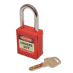 Safety Lockout Padlock Red