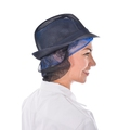 LHC 18026S Navy Trilby Hat with Snood