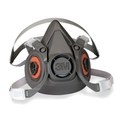 3M 6100 Reusable Half Mask Respirator, Small