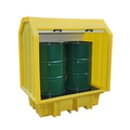 Ecospill PE 2 Drum All Weather Spill Pallet P3201510