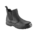 Black Leather Dealer Boot S3