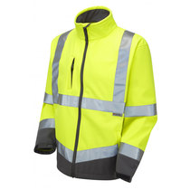 Leo SJ01-Y Buckland Yellow Softshell Jacket