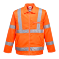 Portwest RT40 Hi-viz Orange Polycotton Jacket