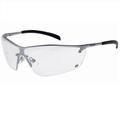 Bolle Silium Metal Frame Clear Lens Safety Glasses SILPSI