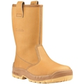 Jallatte Jalaska SAS Tan Leather Rigger Boot S3 SRC