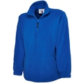 Uneek UC602 1/4 Zip Micro Fleece Jacket Royal Blue