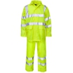 Rain Trousers Hi-Vis Yellow Large