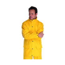 Endurance Waterproof Yellow PU Un-Lined Jacket