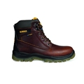 Dewalt Titanium Brown Leather Safety Boots S3