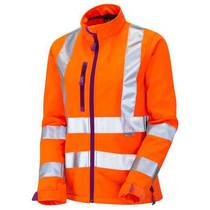 Honeywell Hi-Vis Orange Ladies Softshell Jacket 5XL-6XL