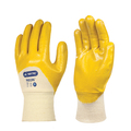 SKY24 Skytec Neon 3/4 Dipped Yellow Nitrile Gloves