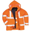 Portwest S468 Orange Hi-viz 4-in-1 Traffic Jacket
