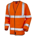 Hi-Vis Orange Long Sleeve Flame Retardant Waistcoat