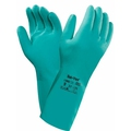 Ansell 37-675 AlphaTec Solvex 13'' Green Nitrile Gauntlet