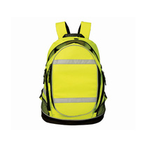 KeepSAFE Hi-Vis Yellow Rucksack