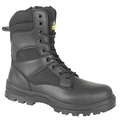 Black Boot And Side Zip S3 Src