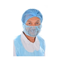 Catersafe Disposable Beard Mask Blue [100]