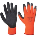 Portwest A140 Thermal Black/Orange Grip Gloves