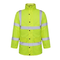 Future JK003 Hi-Viz Yellow Coat EN471