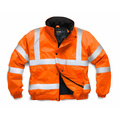 Hi-Vis Orange Superior Bomber Jacket