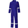 Dickies Flame Retardant Everyday Hi-Viz Navy Blue Coverall