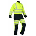 ProGarm 6458 Arc Coverall Navy/Yellow Tall Leg
