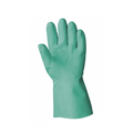 Keepsafe 13'' Green Nitrile Lined Gauntlets