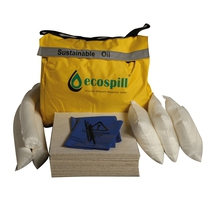 Ecospill 50L Sustainable Oil Only Spill Kit Holdall H1880050