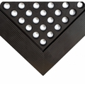 Wearwell 476 Industrial Worksafe GR Black Floor Matting