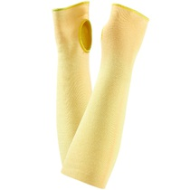 Ansell 70-114 Kevlar 14'' Yellow Cut Resistant Slevees [Each]