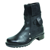 Rufflander Black Mid-Length Foundry Boot