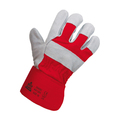 CR2RUB Red/Grey Heavyweight Rigger Gloves