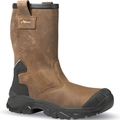 U-Power Alaska Brown Metal Free Rigger Boot S3 CI SRC