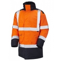 Leo Hi-Vis Orange/Navy 2-Tone Lined Jackets