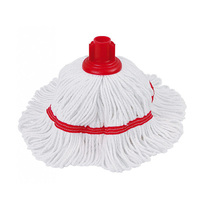 Colour-Coded Socket Mop Head Red