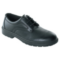 Tuf Black Executive Plain Tie Shoe S1