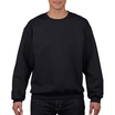 Gildan 92000 Crewneck Cotton Sweatshirt Black