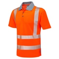 Hi-Vis Orange Coolviz Breathable Polo Shirt