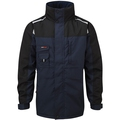 Castle 299 Tuffstuff Cleveland Lined Long Jacket Navy