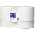 Tork 120257 White Jumbo Toilet Roll Advanced [Case 6]