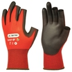 Skytec Digit1 PU Coated 3 Digit Red Gloves SKY71
