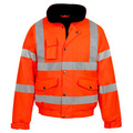 Supertouch Orange Hi-Vis Bomber Jacket