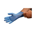 Detectamet X31 Blue Detectable Vinyl Disposable Powder Free Gloves [10x100]