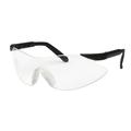 Zodiac Black Frame Hardcoated Lens Safety Glasses