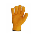 CC1 Orange Criss Cross Latex Gloves