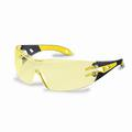 Uvex Pheos Amber Lens Safety Glasses 9192-385