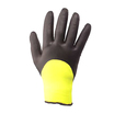 3/4 Dipped Black Nitrile Thermal Glove [12]