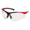 Clear Lens Solar Spec 2-tone Frame Safety Glasses