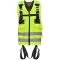 Kratos FA1030200 Full Body Harness with Hi-Vis Yellow Vest