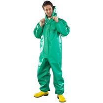 Chemmaster Green Boilersuit with Hood CMBH-EW